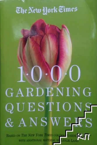 1000 gardening questions answers