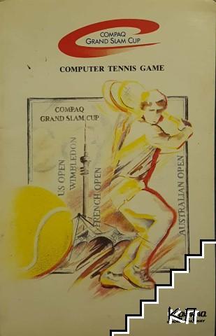 Compaq Grand Slam Cup computer tennis game