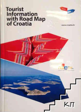 Tourist information with Road Map of Croatia