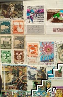 Колекция израелски марки от създаването на държавата до сега
