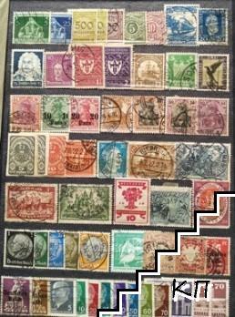 Колекция пощенски марки от цял свят 1920-1960 г.