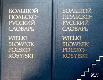 Большой польско-русский словарь. Том 1-2 / Wielki słownik polsko-rosyjski. Obj. 1-2