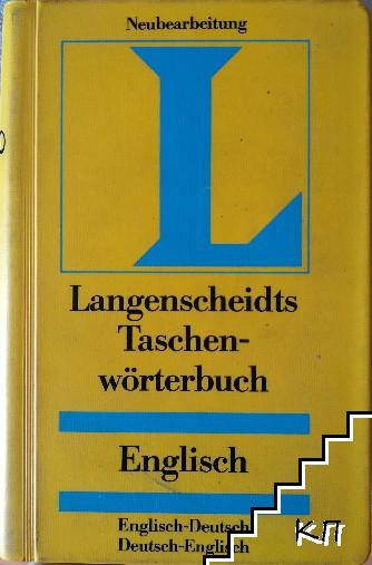 Langenscheidt Taschenwörterbuch. Englisch: Englisch-Deutsch / Deutsch-Englisch