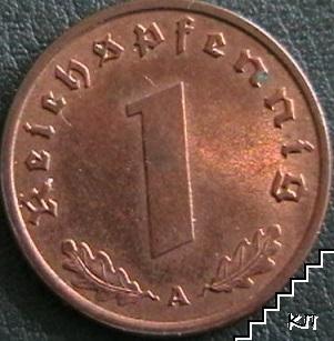 1 пфенинг / 1939 / А, Германия (Трития райх)