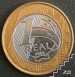 1 реал / 2008 / Бразилия