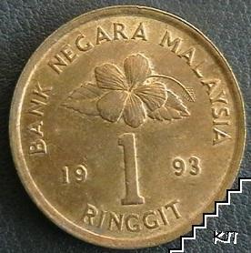 1 рингит / 1993 / Малайзия