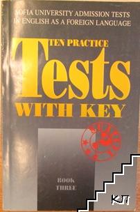 Ten Practice Tests with Key. Book 3