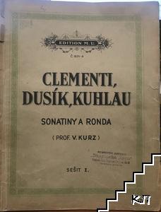 Sonatiny a ronda - Clementi, Dusík, Kuhlau