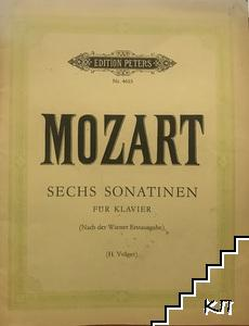 Mozart sechs sonaten für klavier