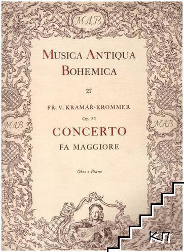 Concerto Fa maggiore. Op. 52
