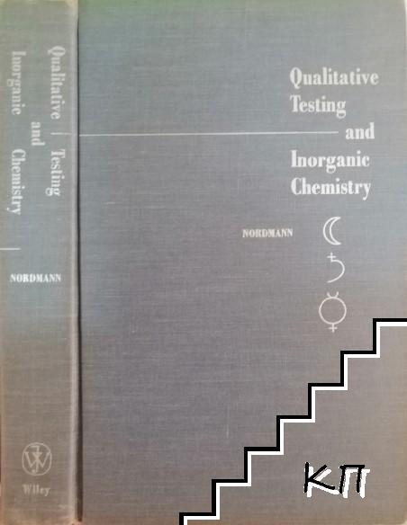 Qualitative Testing and Inorganic Chemistry