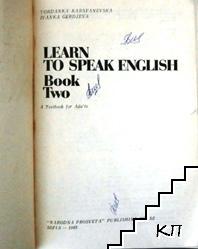 Learn to Speak English. Book 2 (Допълнителна снимка 1)