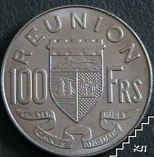 100 франка / 1964 / Реюнион