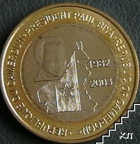 6000 франка / 2003 / Камерун