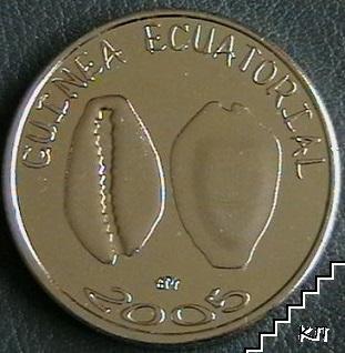1500 франка / 2005 / Екваториална Гвинея
