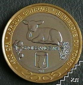 4500 франка / 2005 / Чад