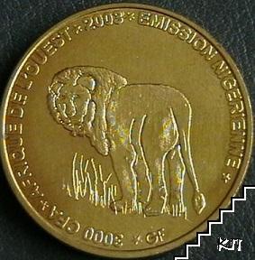 3000 франка / 2003 / Нигер