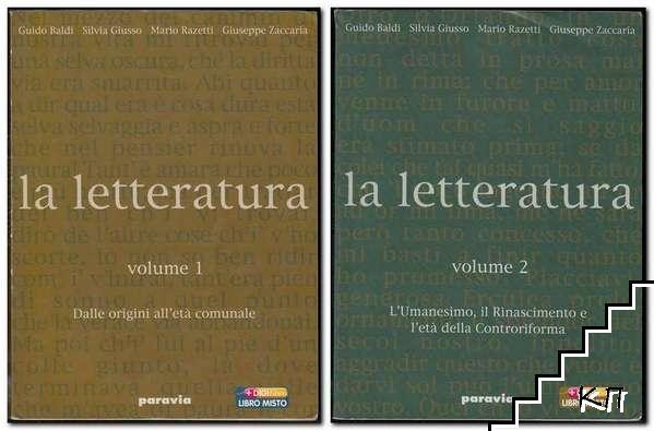 La letteratura. Vol. 1-2