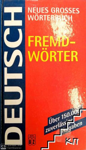 Neues grosses Wörterbuch Fremdwörter