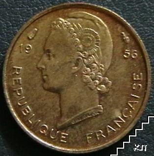 5 франка / 1956 / Френска Западна Африка