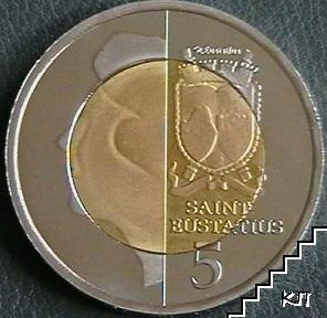 5 долара / 2012 / Сейнт Еустатиус