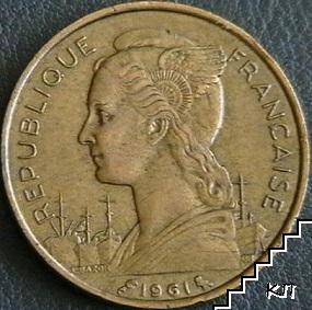 20 франка / 1961 / Реюнион