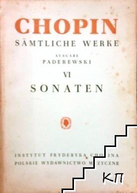 Sämtliche Werke. Vol. 6: Sonaten