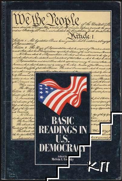Basic Readings in U.S. Democracy
