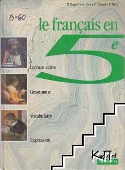 Le Français en 5e
