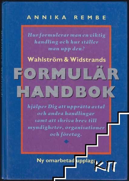 Wahlström & Widstrands formulärhandbok