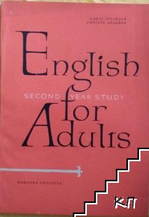English for Adults. Second year