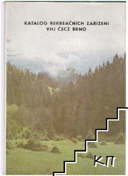 Katalog rekreačnich zarizeni whj čscz Brno