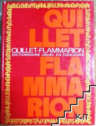 Quillet Flammarion. Dictionnaire usuel en couleurs