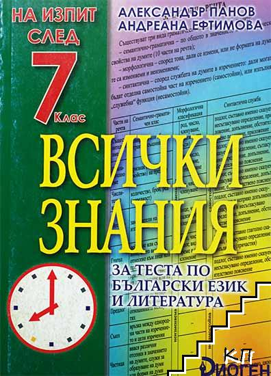 На изпит след 7. клас: Всички знания за теста по български език и литература