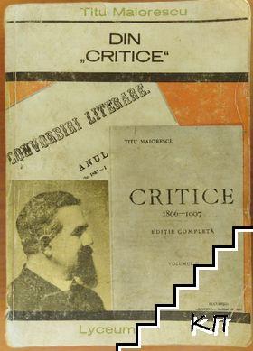 """Din """"critice"""""""