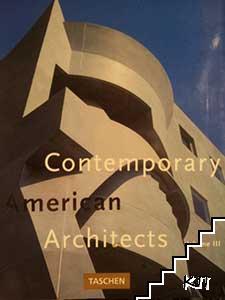 Contemporary American Architects. Vol. 3
