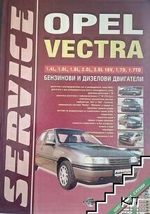 Opel Vectra. Бензинови и дизелови двигатели