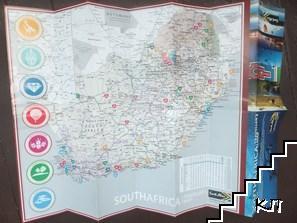 Карта на ЮАР