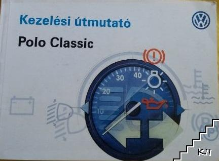 Kezelési útmutató. Polo Classic