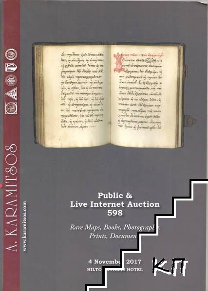 Public and Live Internet Auction 598