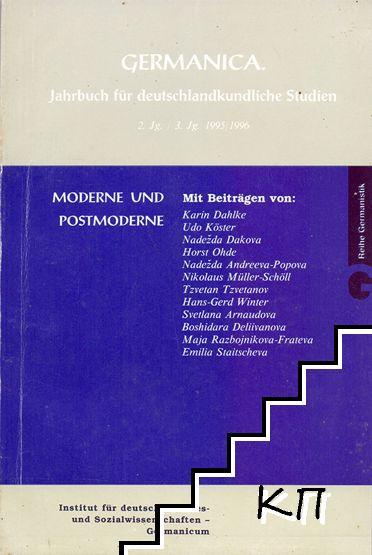 Germanica. Jahrbuch für deutschlandkundliche Studien
