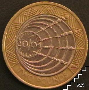 2 паунда / 2001 / Великобритания