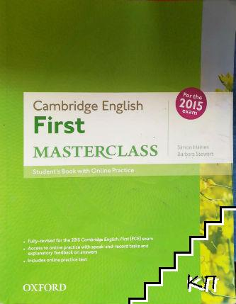 Cambridge English: First Masterclass: Student's Book and Online Practice