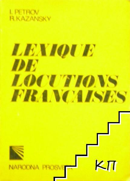 Lexique de locutions françaises