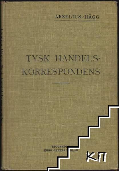 Tysk handelskorrespondens för handelsläroverk och till självstudium
