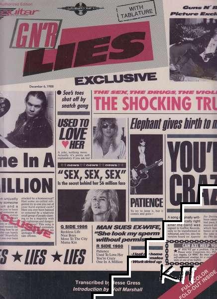 Guns N' Roses Lies: Guitar. Vocal