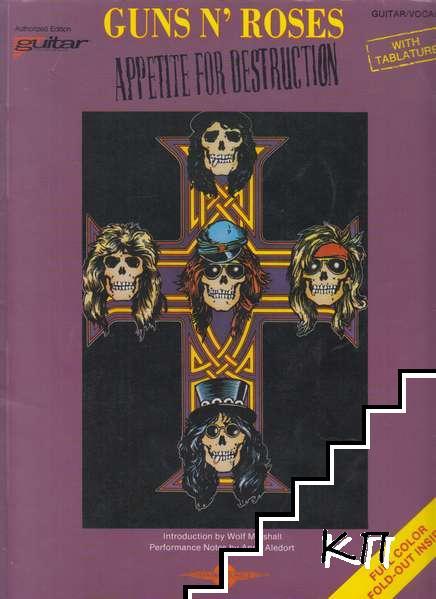 Guns N' Roses Appetite for Destruction: Guitar. Vocal. Tablature