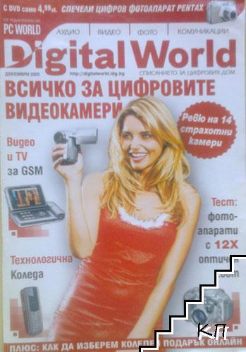 PC World: Всичко за цифровите видеокамери