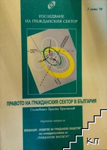 Правото на гражданския сектор в България. 3 Лято '98