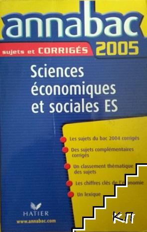 Annabac sujets et corriges 2005